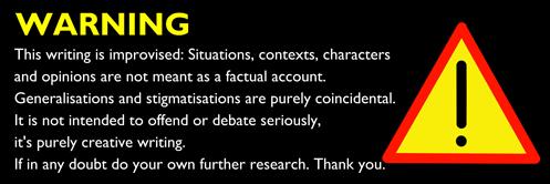 Don Charisma Warning Improvised Writing